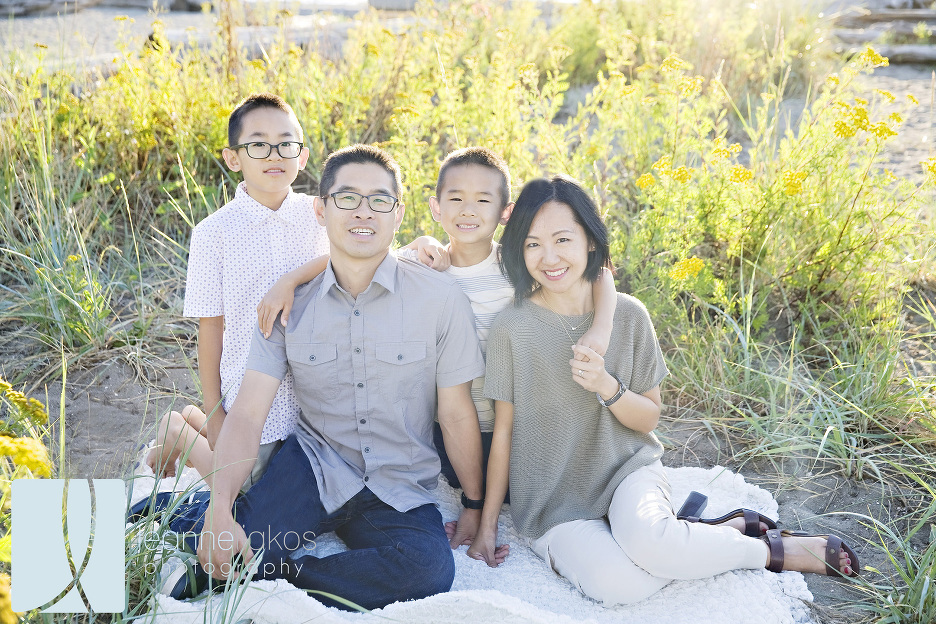 Outdoor family portraits in vancouver b c leanne liakos photography